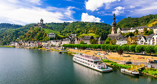 Why not take a cruise along the Rhine in Germany?