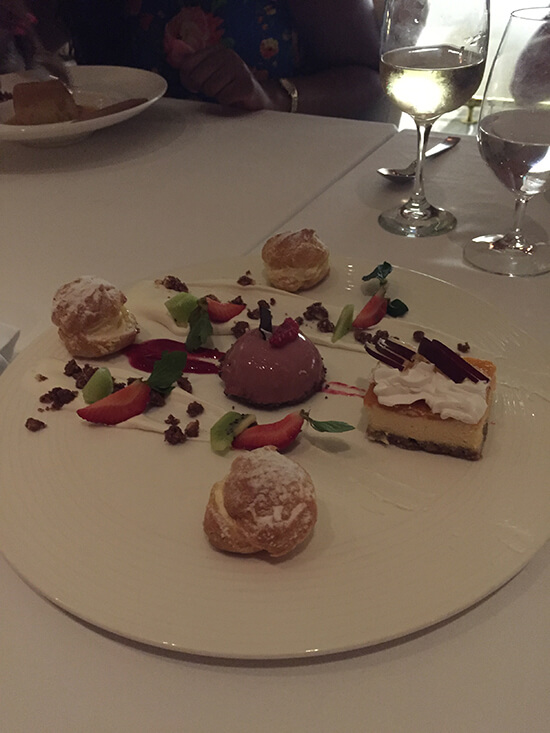 Dessert selection at Nebbiolo (image: Tessa Watkins)