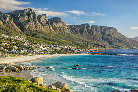 The beautiful city of Cape Town, home to an abundance of marine life