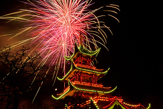 Tivoli Gardens fireworks and Christmas lights (image: Stig Nygaard/Flickr)