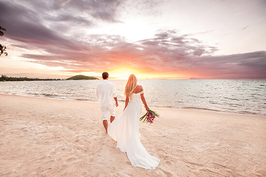 Get hitched on a Caribbean beach