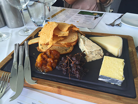 The cheeseboard at Leogate