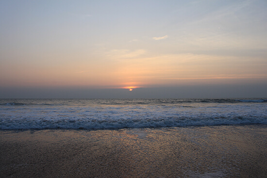 Agonda Goa sunset (image: Lauren Williams)