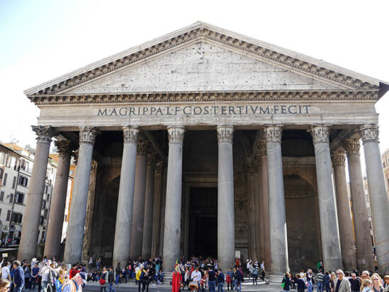 The Pantheon exterior (image: Alexandra Gregg)