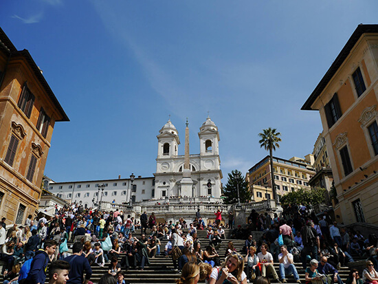 The Spanish Steps (image: Alexandra Gregg)