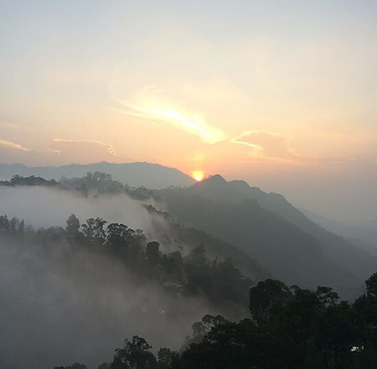 Sunrise in Ella (image: Adam Vanstone)