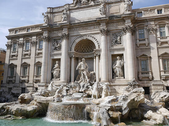 The Trevi Fountain (image: Alexandra Gregg)
