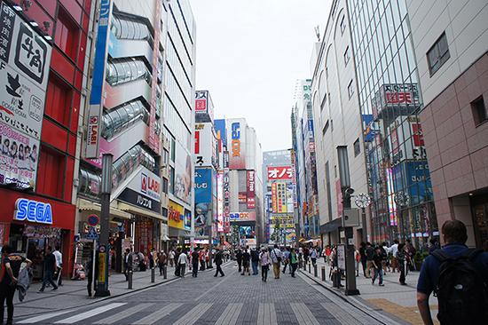 Akihabara in Tokyo. Image: Lauren Burvill