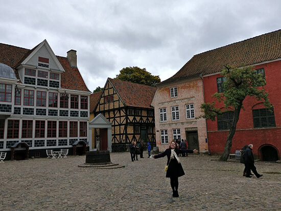 Me at Dem Gamle By (image: Angela Griffin)