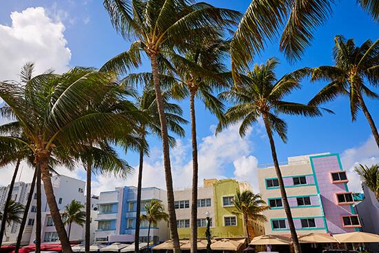 Art Deco-style in Miami