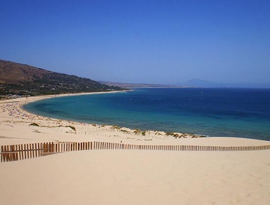 A Marbella beach scene