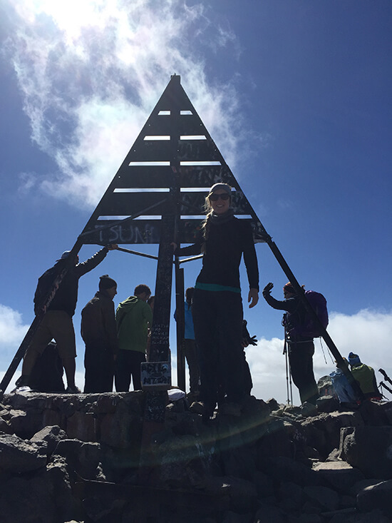 Daisy joined a group tour to Mount Toubkal