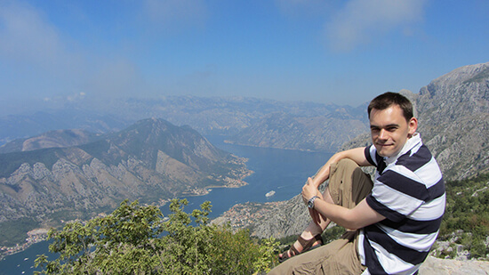 Looking out to the Gulf of Kotor (image: Angela Griffin)