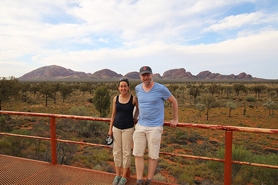 Me at Kata Tjuta (image: Phil Murray)