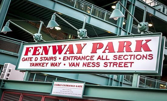 Fenway Park entrance, Boston