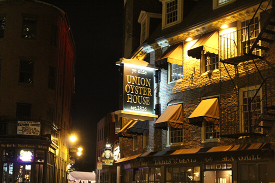 Union Oyster House (image: Flickr/Shinya Suzuki)