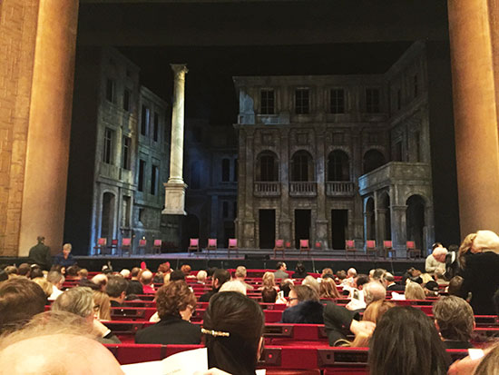 Watching the Opera at the MET (image: Lauren Burvill)
