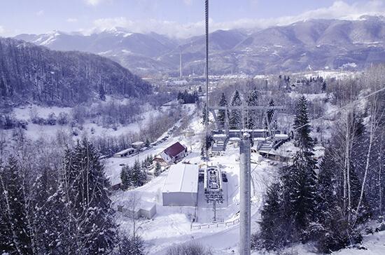 Ski scene