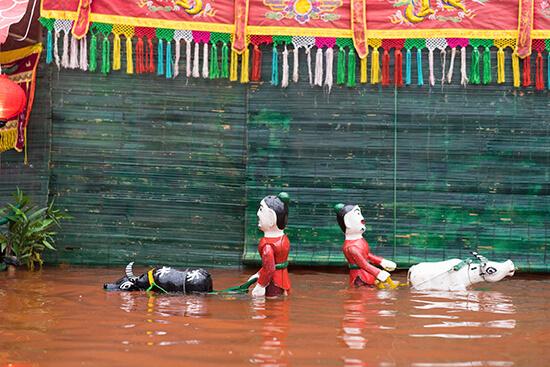 Vietnamese water puppetry