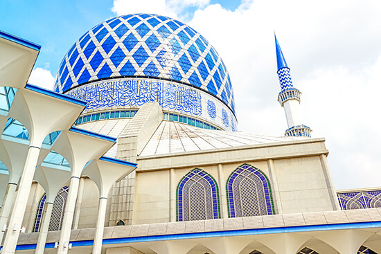 Sultan Salahuddin Abdul Aziz Mosque malaysia