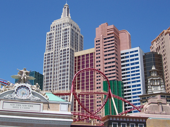 New York Coaster in Las Vegas
