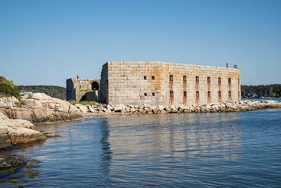 Fort Popham, Maine