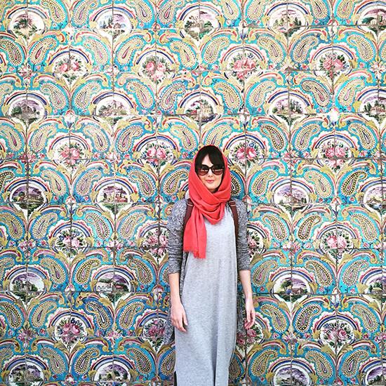 Golestan Palace, Tehran (image: Gwenllian Jones)