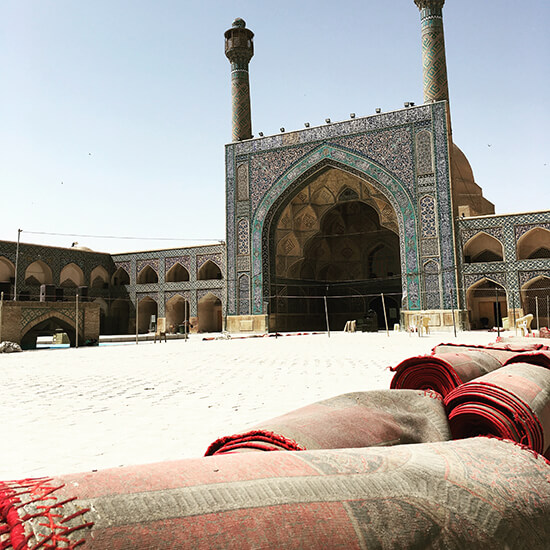 Jameh Mosque, Isfahan (image: Gwenllian Jones)