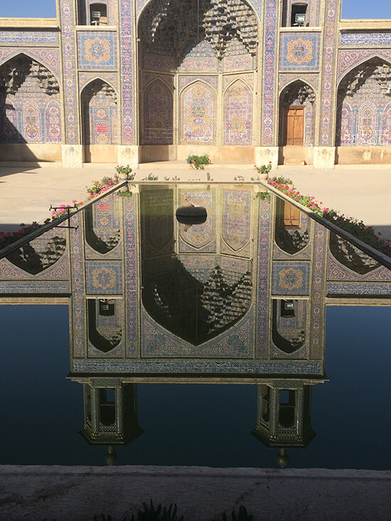 Nasir-ol-Molk Mosque, Shiraz (image: Gwenllian Jones)