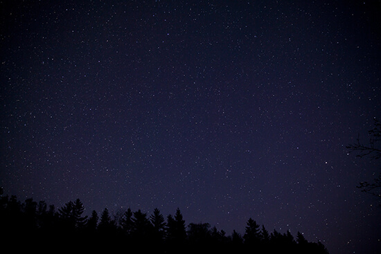 Stars in Acadia National Park