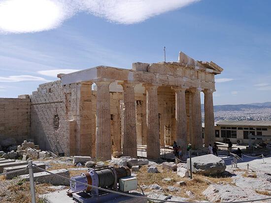 The Acropolis (image: Alexandra Gregg)