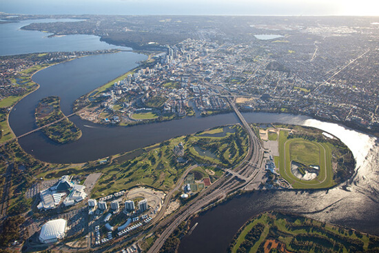Swan River (image: Tourism Western Australia)