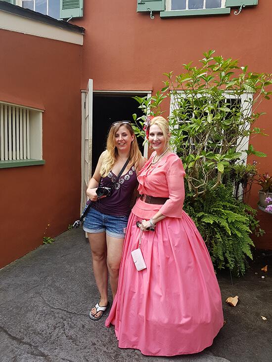 Me and Susan (image: Alexandra Gregg)