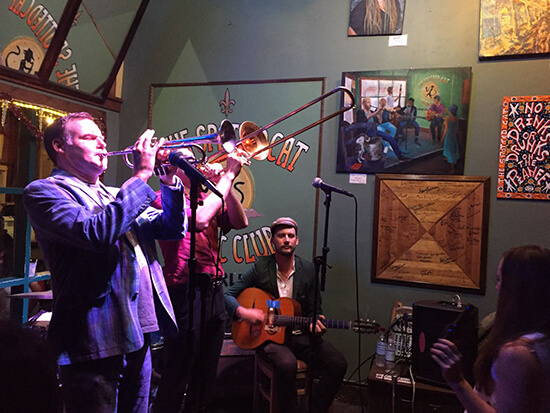 The Spotted Cat in Frenchman Street (image: Sarah Barnett)