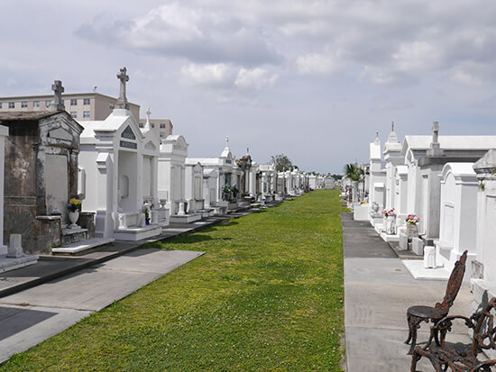 St Louis 3, one of the above-ground cemeteries in NOLA (image: Alexandra Gregg)