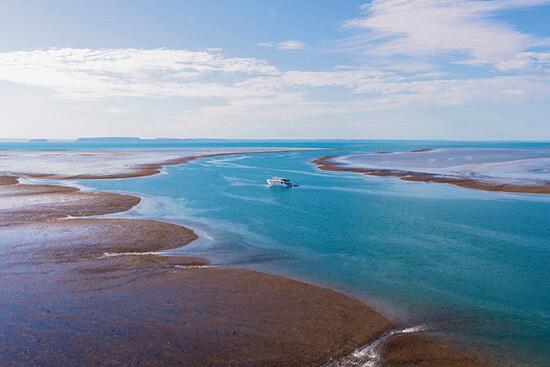 RS 11. Montgomery Reef, Kimberley 111386-4