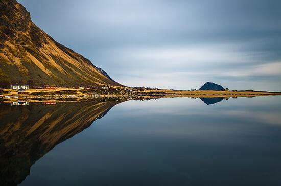 Hoven mountain, Lofoten