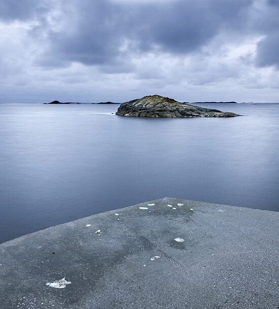 Vigra island, Norway
