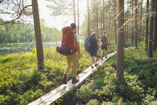 Hiking (image: Visit Finland)