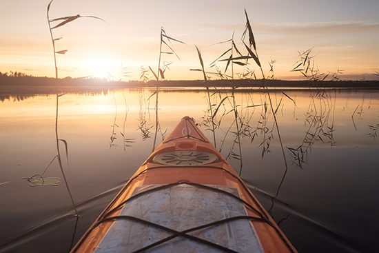 Kayaking (image: Visit Finland)