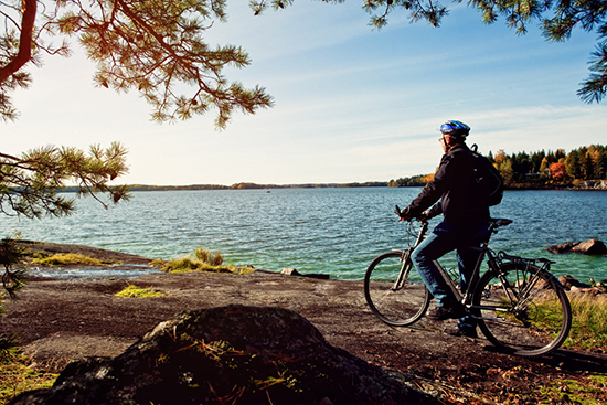 Cycling (image: Visit Finland)