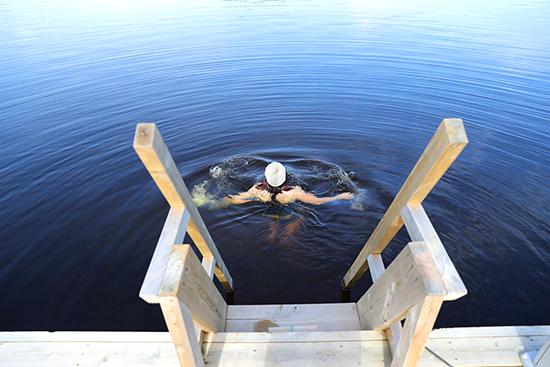 Swimming (image: Visit Finland)
