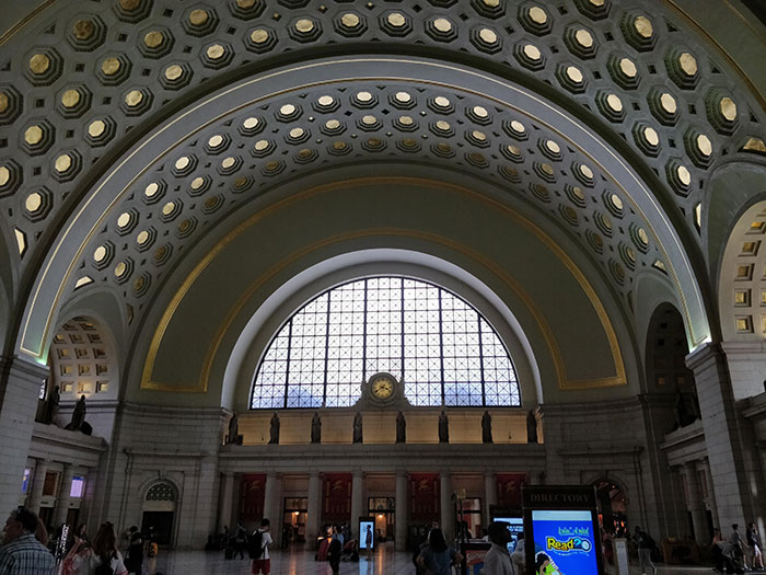 Washington Union Station Angela Griffin