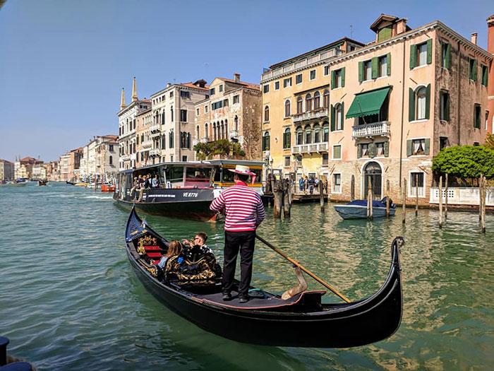 Venice Gondola Irina Ginghina