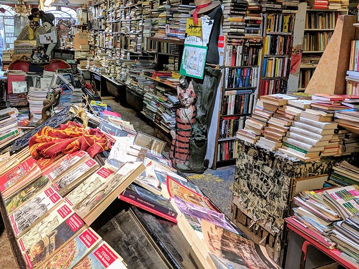Libreria Acqua Alta Irina Ginghina