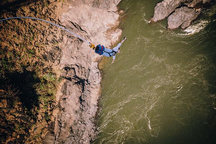 Victoria Falls bungee