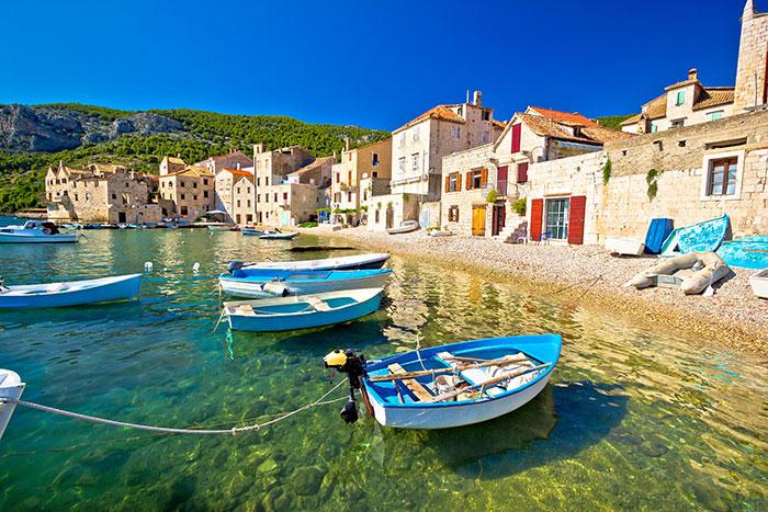 Vis Harbour Croatia