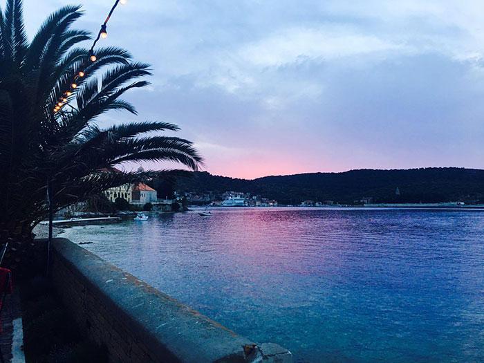 Sunset at Vis Beach