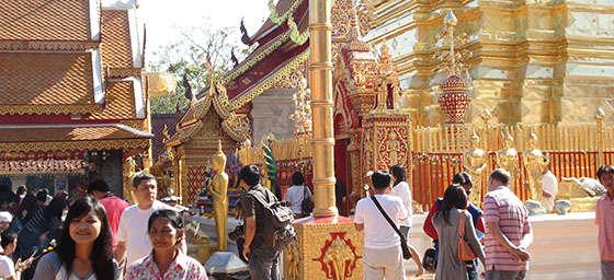 Wat Doi Suthep Temple in Chiang Mai