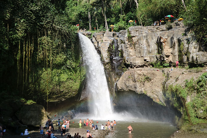 Waterfall in Bali (image: Pho East Movement)